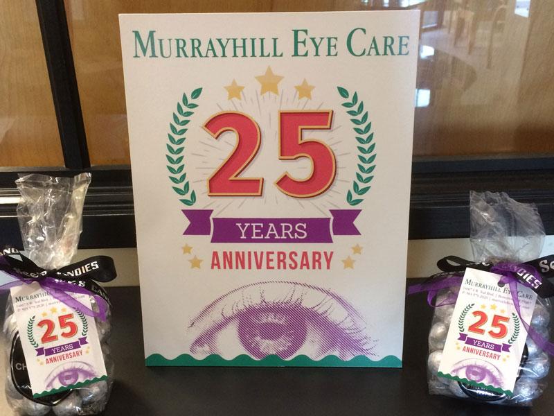 Murrayhill Eye Care celebrates 25 years of service
