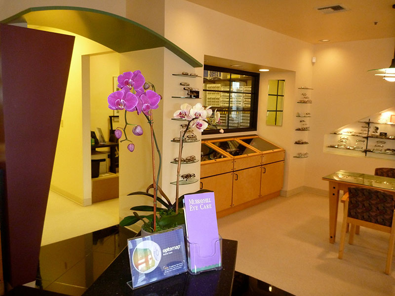 Orchid front desk