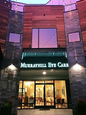 murrayhill eye care exterior building