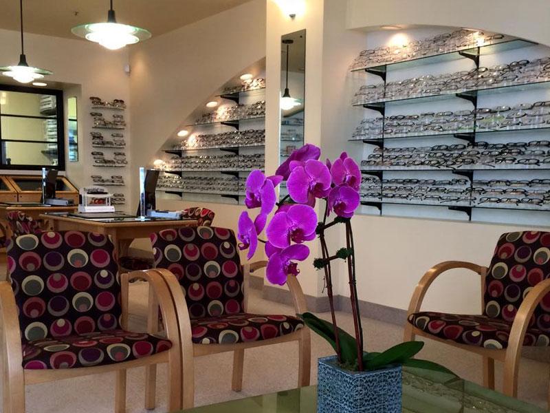 Waiting area of Murrayhill Eye Care