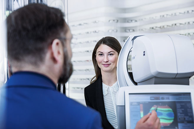 zeiss vision eye exam